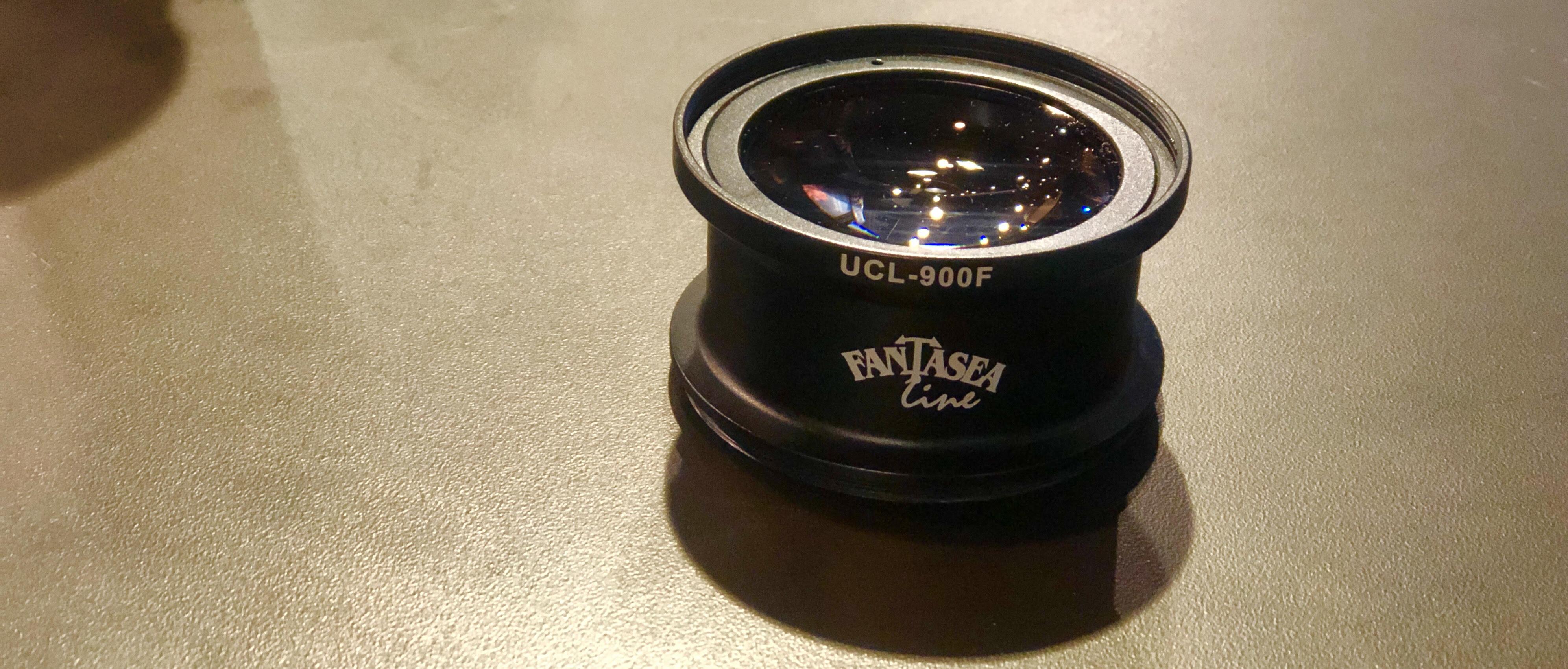Fantasea UCL 900F macro lens