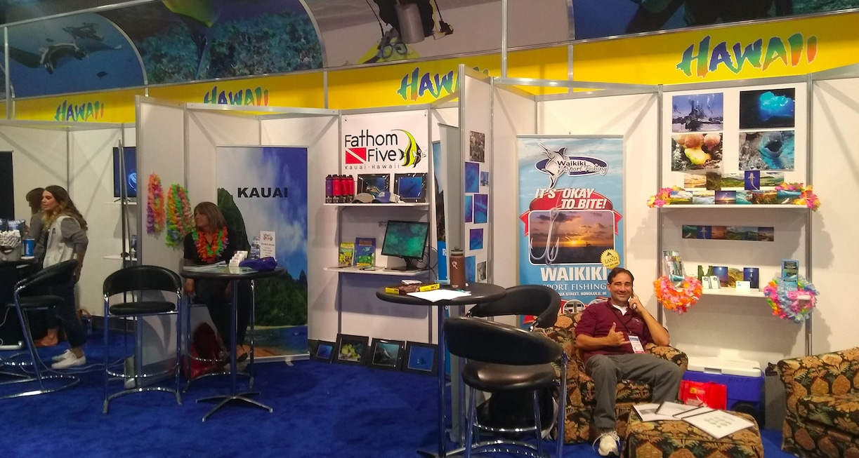 Hawaii Shows Aloha Spirit With Debut Of DEMA Show Pavilion