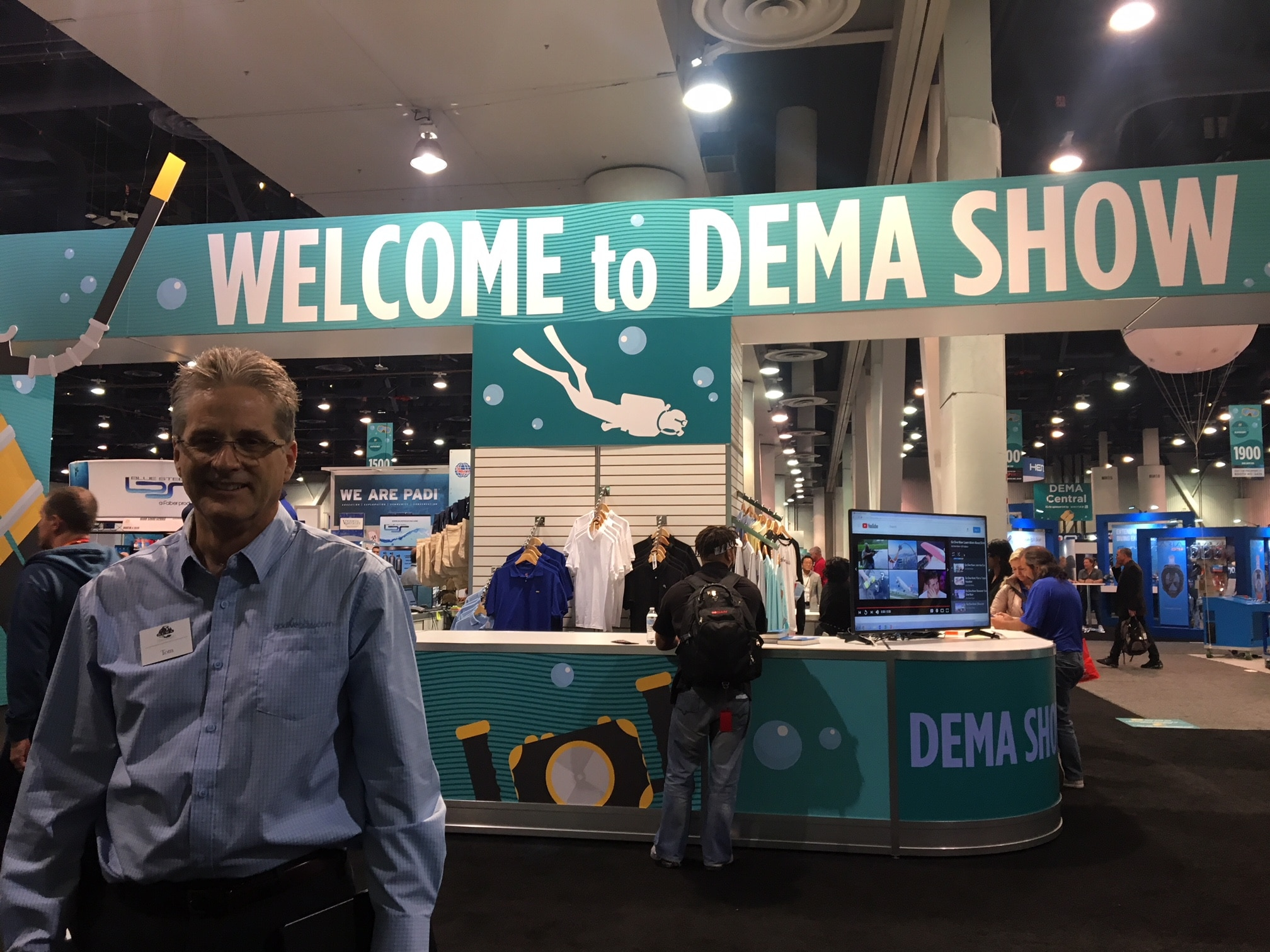 Tom Ingram at DEMA Show 2018
