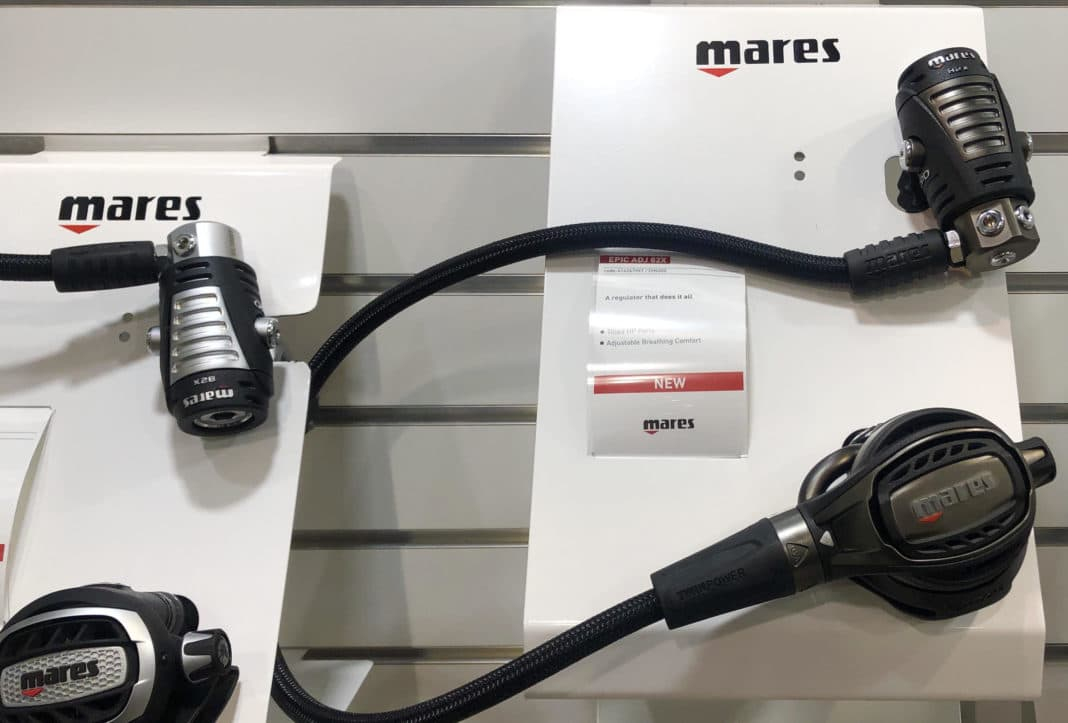 Mares Highlights Brand New Regs At DEMA Show