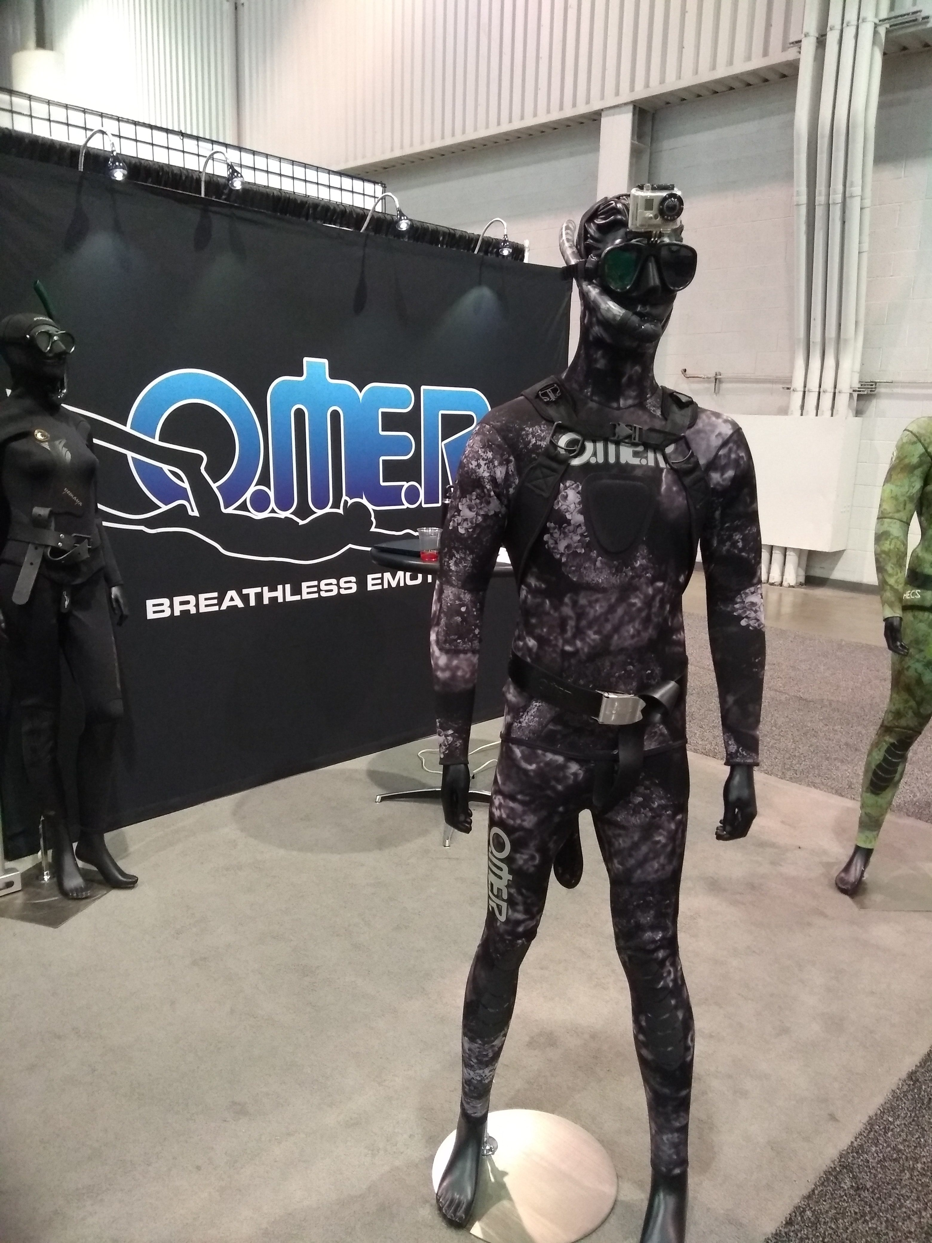 Omer's Black Stone wetsuit