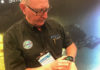 Shearwater Research's Bruce Partridge at DEMA Show 2018