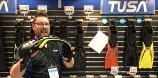 TUSA's Switch PRO Fins Make For A More Powerful Dive