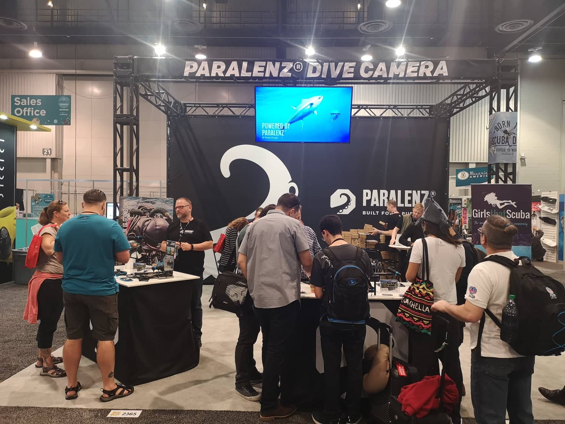 Paralenz at DEMA Show 2018 (photo by @Alex St. Jean)