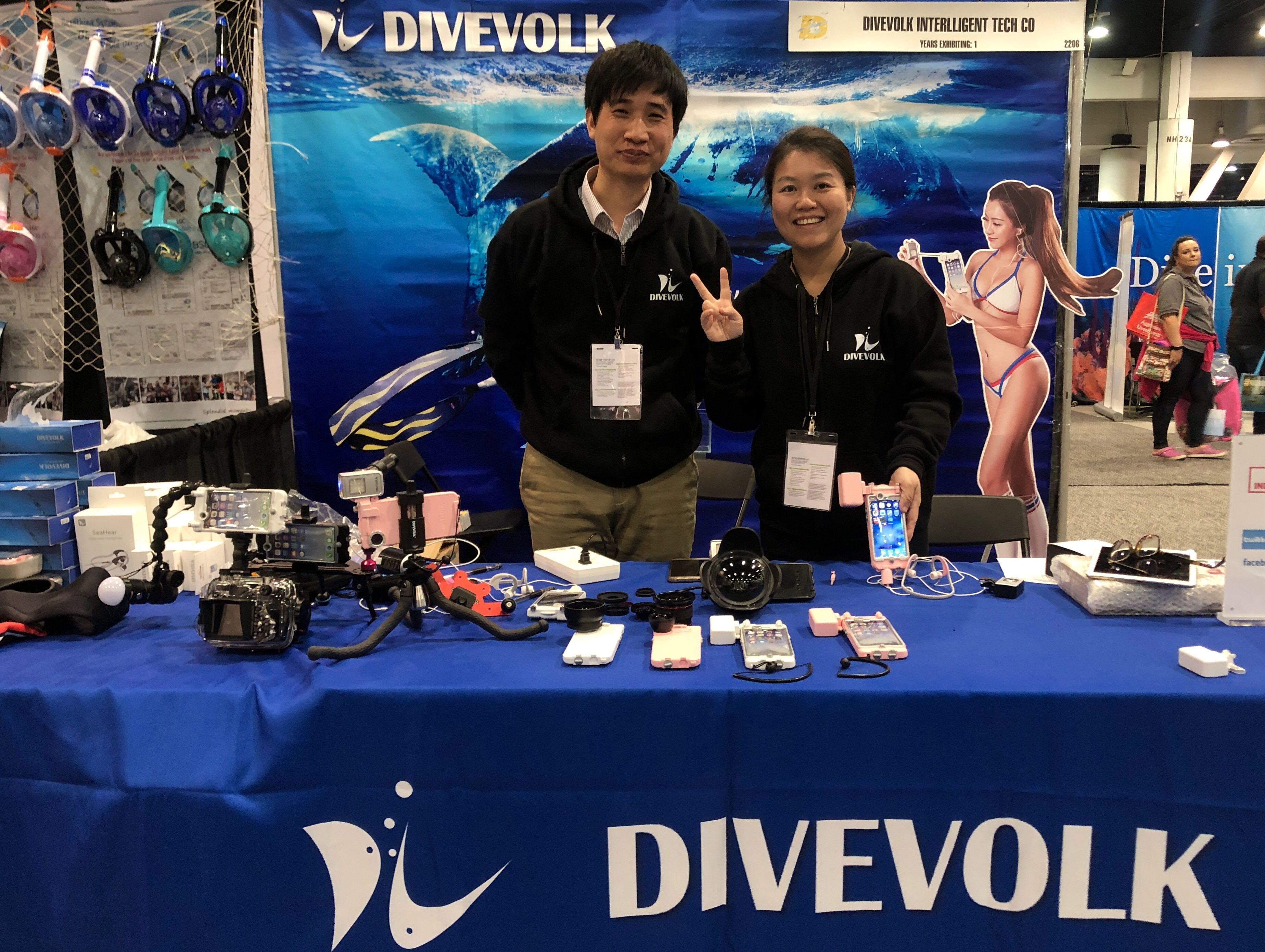 Divevolk's new iPhone dive case