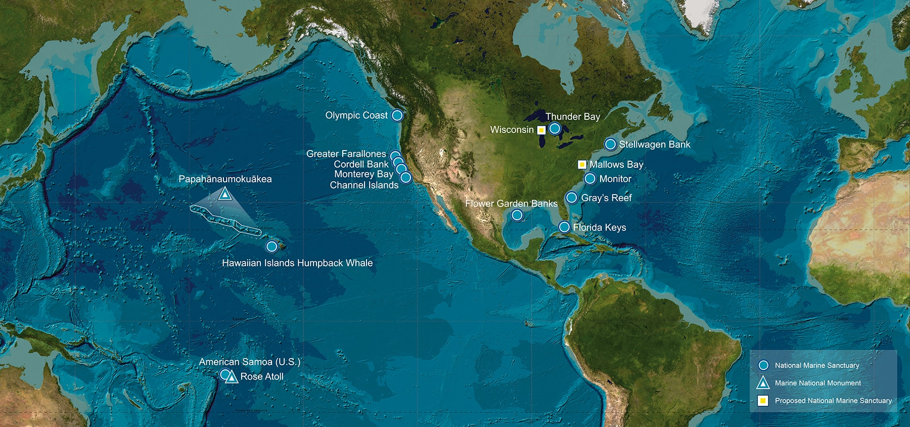 U.S. National Marine Sanctuaries