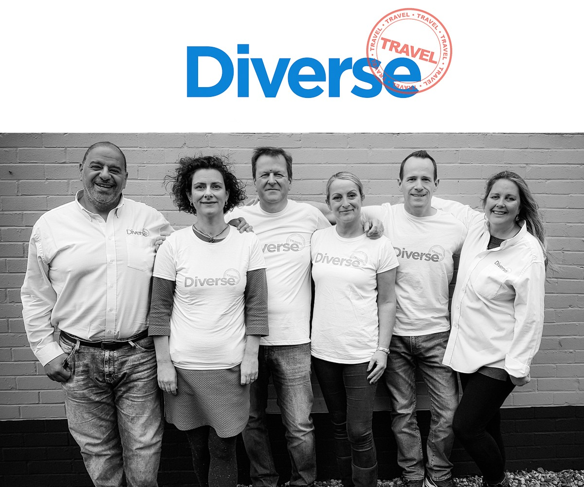 Diverse Travel Sales Team
