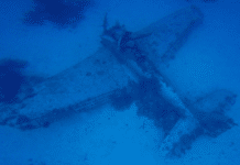 Kawajalein Atoll wreck