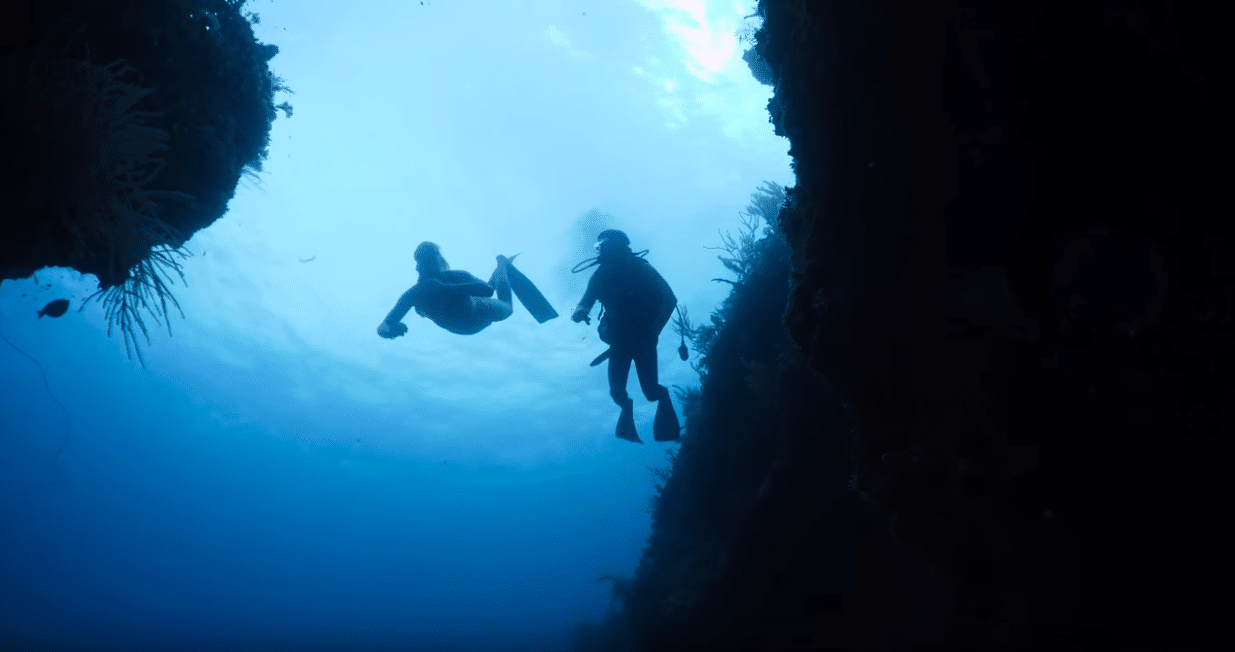 The Last Man Diving freediving episode