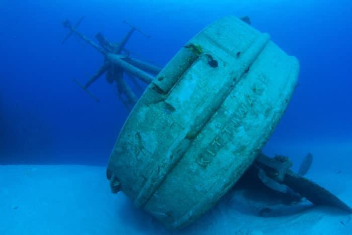 The Kittiwake wreck