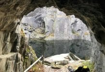 Hodge Close Quarry in Wales, UK