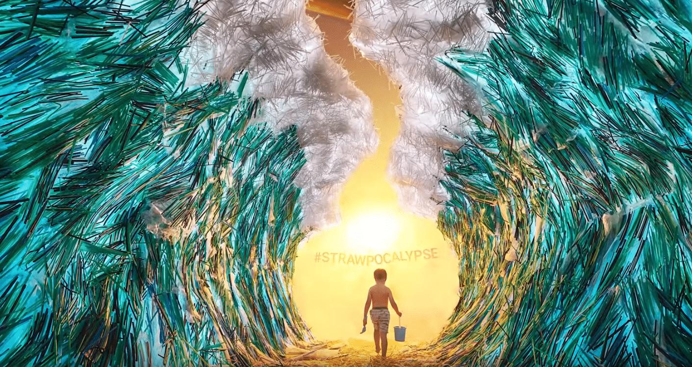 Vietnamese Artist Makes 'Strawpocalypse' Installation