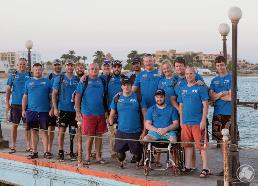 Deptherapy Shortlisted For 2019 Soldiering On Award (Photo - Dmitry Knyazev for Deptherapy)