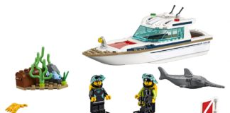 LEGO's new diving yacht