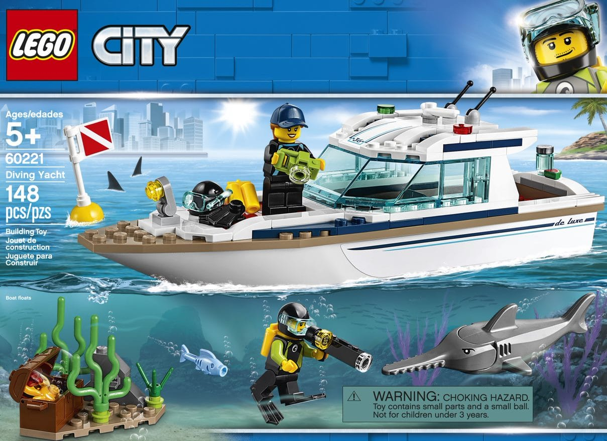 LEGO Diving Yacht Box Set