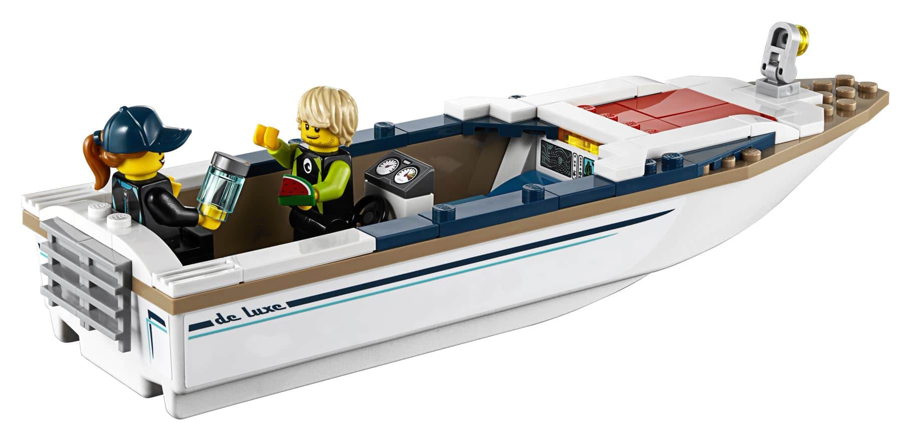LEGO Diving Yacht with no roof