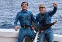 Team Neptonics Spearos Smash Tuna World Record