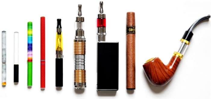 Electronic cigarettes and vaporizers.