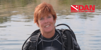 DAN Board Chairwoman Kathy Weydig named Diver of the Year by Beneath The Sea.