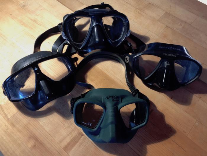 The comparison test masks