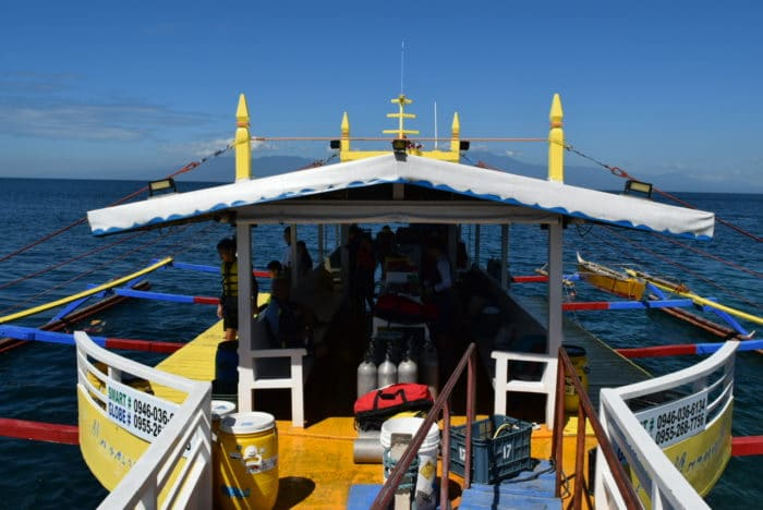 Typical Island Hopping/ Charter Boat Photo by Charles Davis