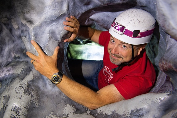 Try your hand at Caving at GO Diving