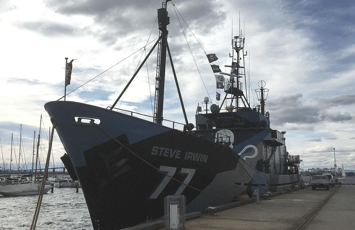 Sea Shepherd's M/V Steve Irwin