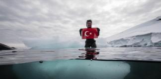 Turkish Freediver Sahika Ercumen Dives Antarctica