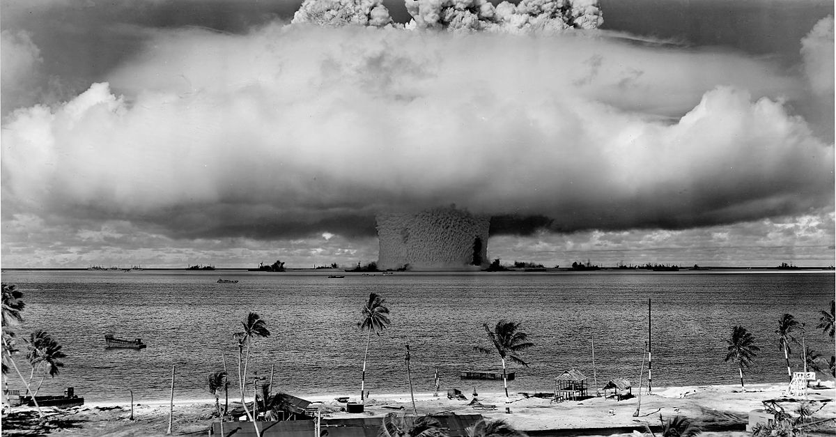 Operation Crossroads, Baker Explosion Public Domain US Government Photo