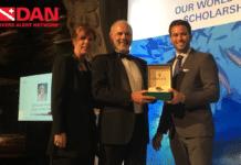 David Wilkinson Named 2019 DAN/Rolex Diver of the Year