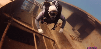 Former Sailor Returns To Dive His Old Ship