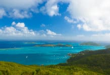 Virgin Gorda in the British Virgin Islands of the Caribbean.