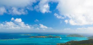 Virgin Gorda in the British Virgin Islands of the Caribbean.