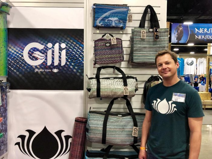 Gili Gear Bag founder Derek Redd