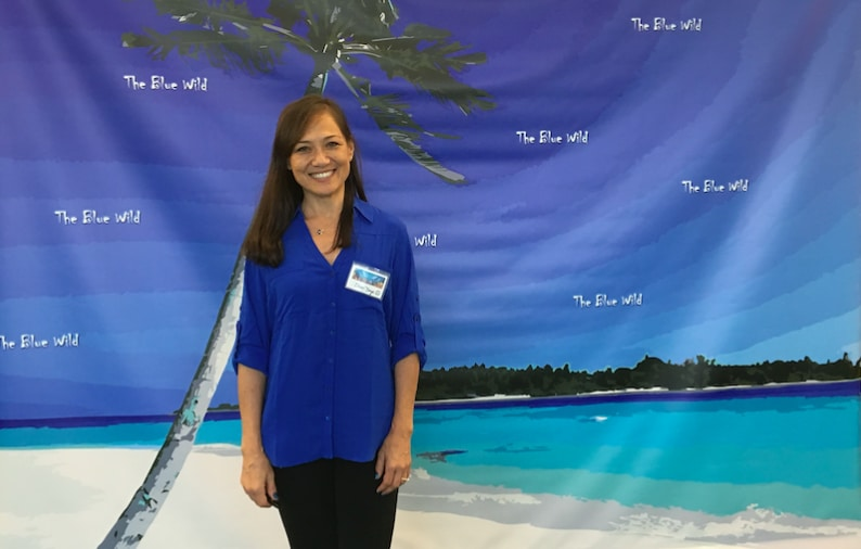 Sheri Daye, founder of The Blue Wild Ocean Adventure Expo.