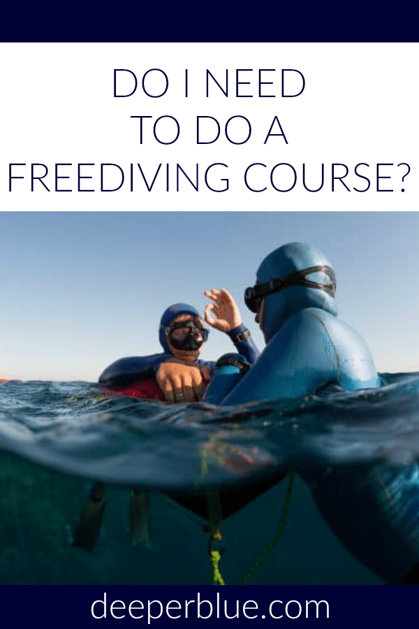 Do I Need To Do a Freediving Course?