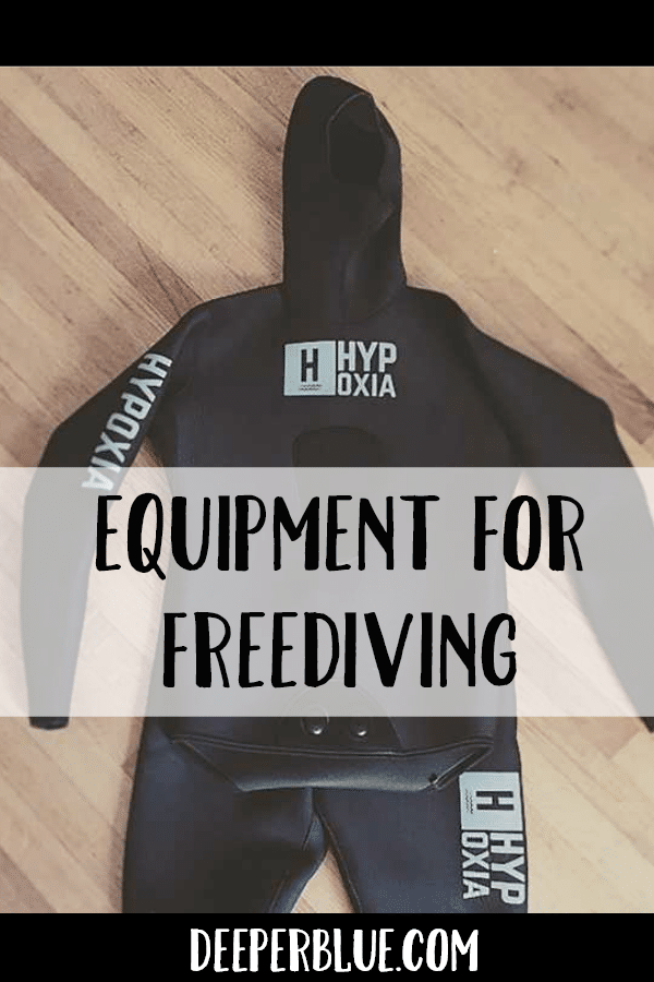 Equipment for Freediving