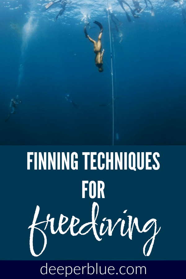 Finning Techniques for Freediving