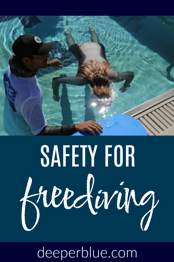 Safety for Freediving 1