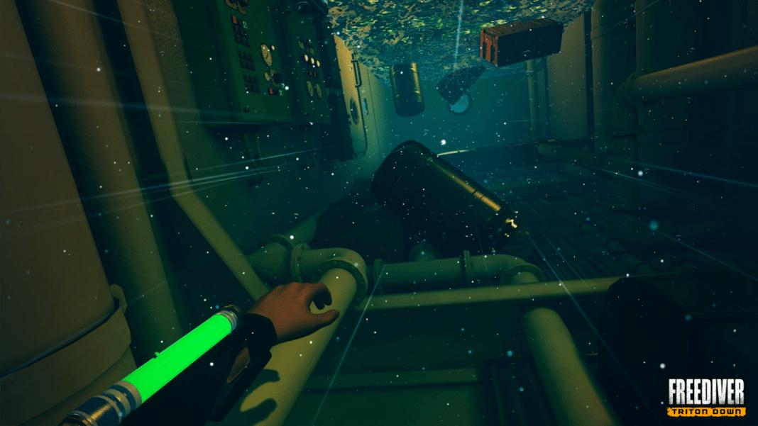 'FREEDIVER: Triton Down' VR Game