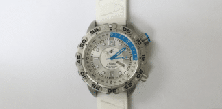 Nadia Dive Watch Makes First Public Viewing