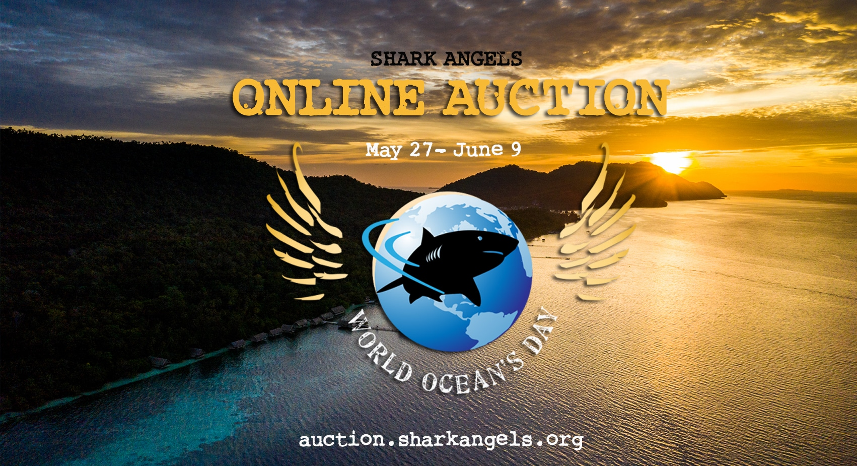Shark Angels Launches Third World Oceans Day Auction