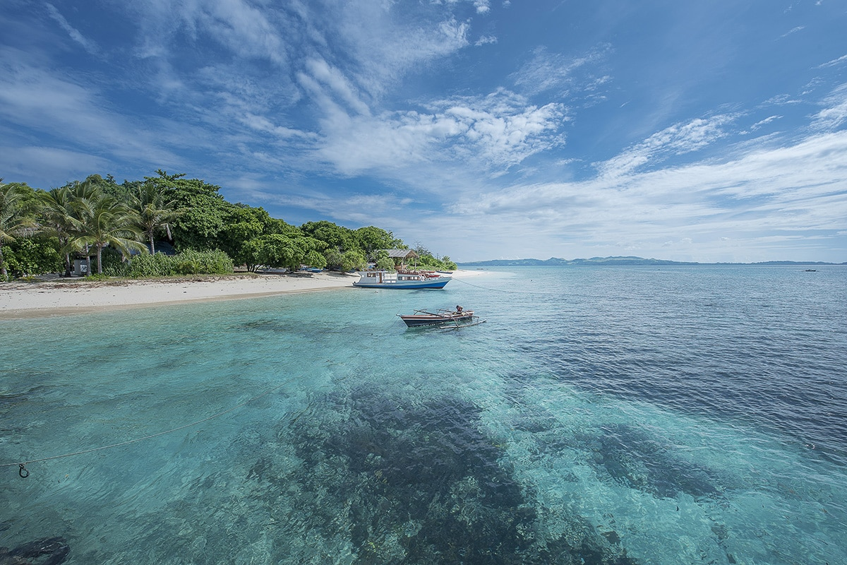 Diving off the house reef is spectacular and day trips can be arranged on board the dive boat.
