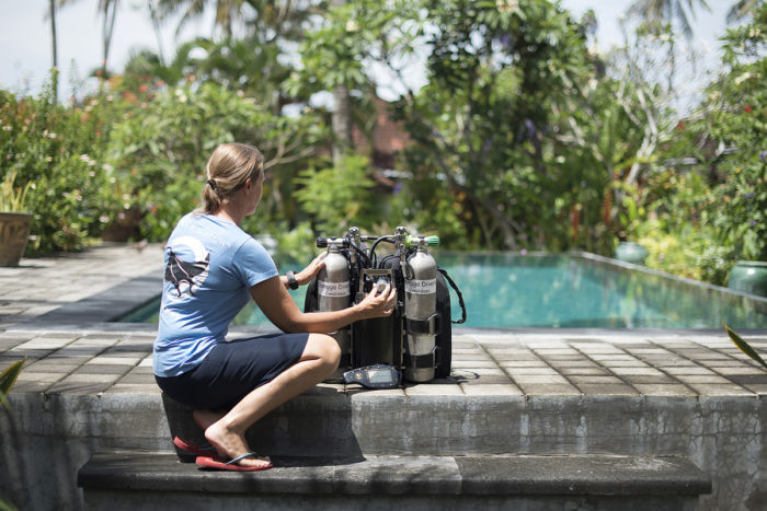 You will also have the opportunity to increase your dive qualifications with Gangga Divers at Lotus Bungalows.