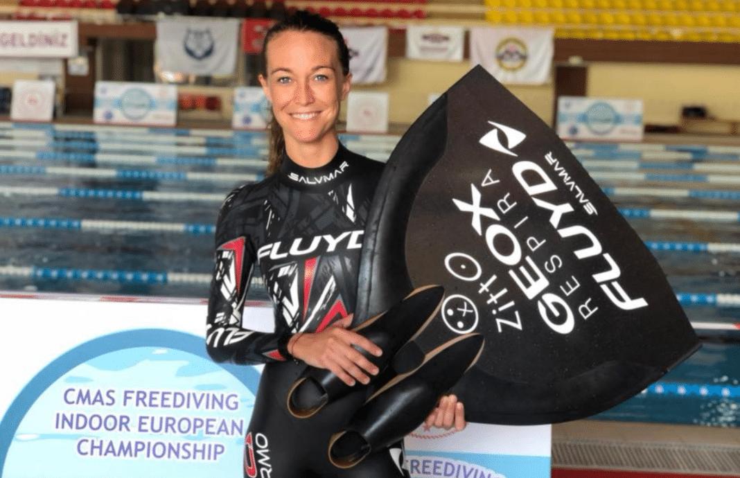 Alessia Zecchini -- CMAS Freediving Indoor European Championship