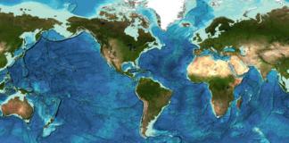 GEBCO Ocean Map 2019 (Image Credit: GEBCO)