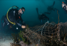 Campaign Begins to Clear 'Ghost Nets' from Myanmar's Mergui Archipelago (Photo credit: Magnus Larsson)