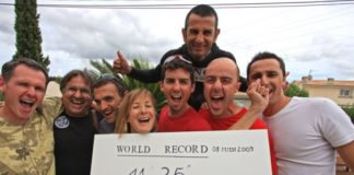 Stephane Mifsud 11min 35sec Static World Record