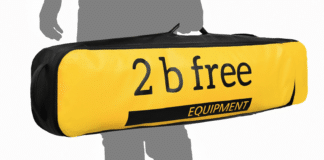 2 B Free Long Fins Bag
