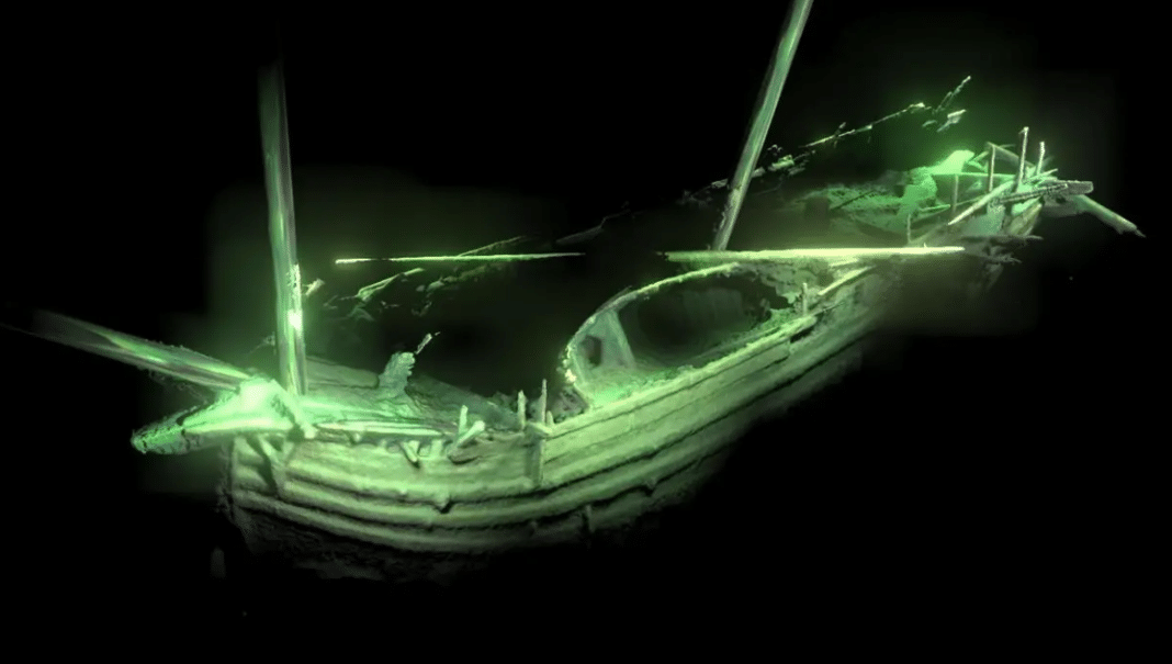 500-Year-Old Merchant Ship Found In Pristine Condition In Baltic Sea (Photo credit: Deep Sea Productions/MMT)
